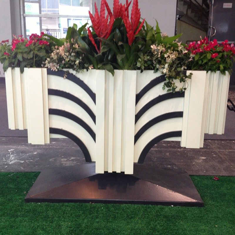 PVC艺术花箱