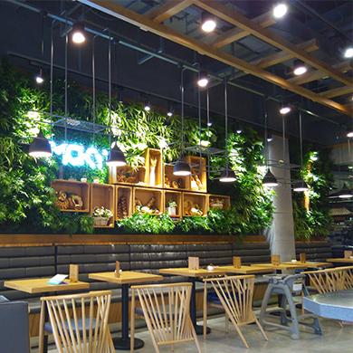 店面植物墙